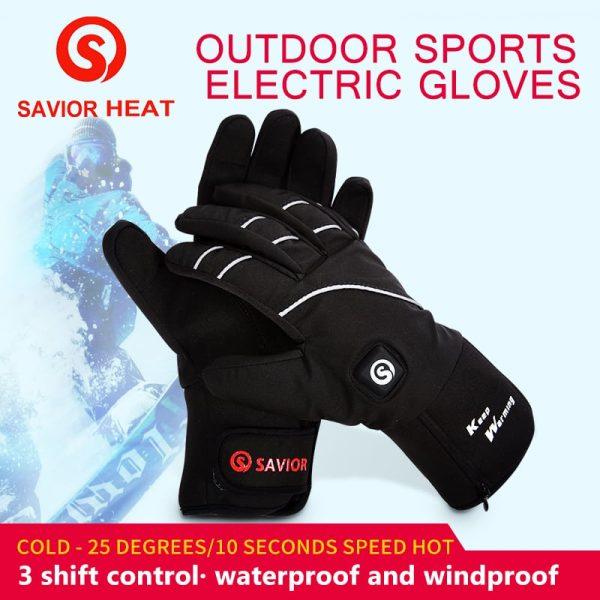 Waterproof Heated Gloves